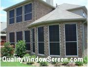 Brown Suntex 80 Solar Screens