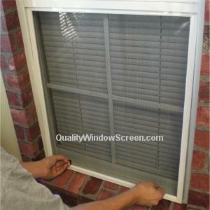 Install Or Remove Fibergl Window Screens