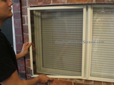 How to Install Slider Fiberglass Insect Screen