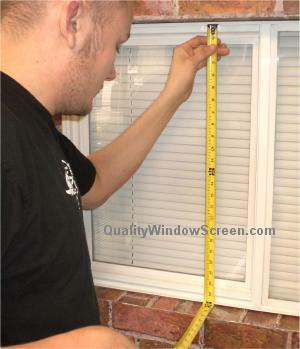 Measure Slider Window Screen Height