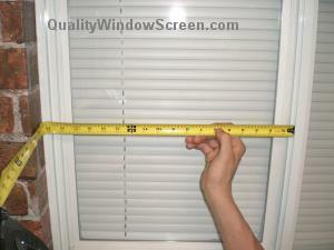 How To Measure For Horizontal Slider Window Solar Screens
