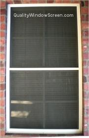 Solar Screens Mounted with Screws