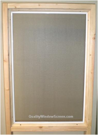 Attaching Patio Amp Porch Screen Panels With Quarter Round