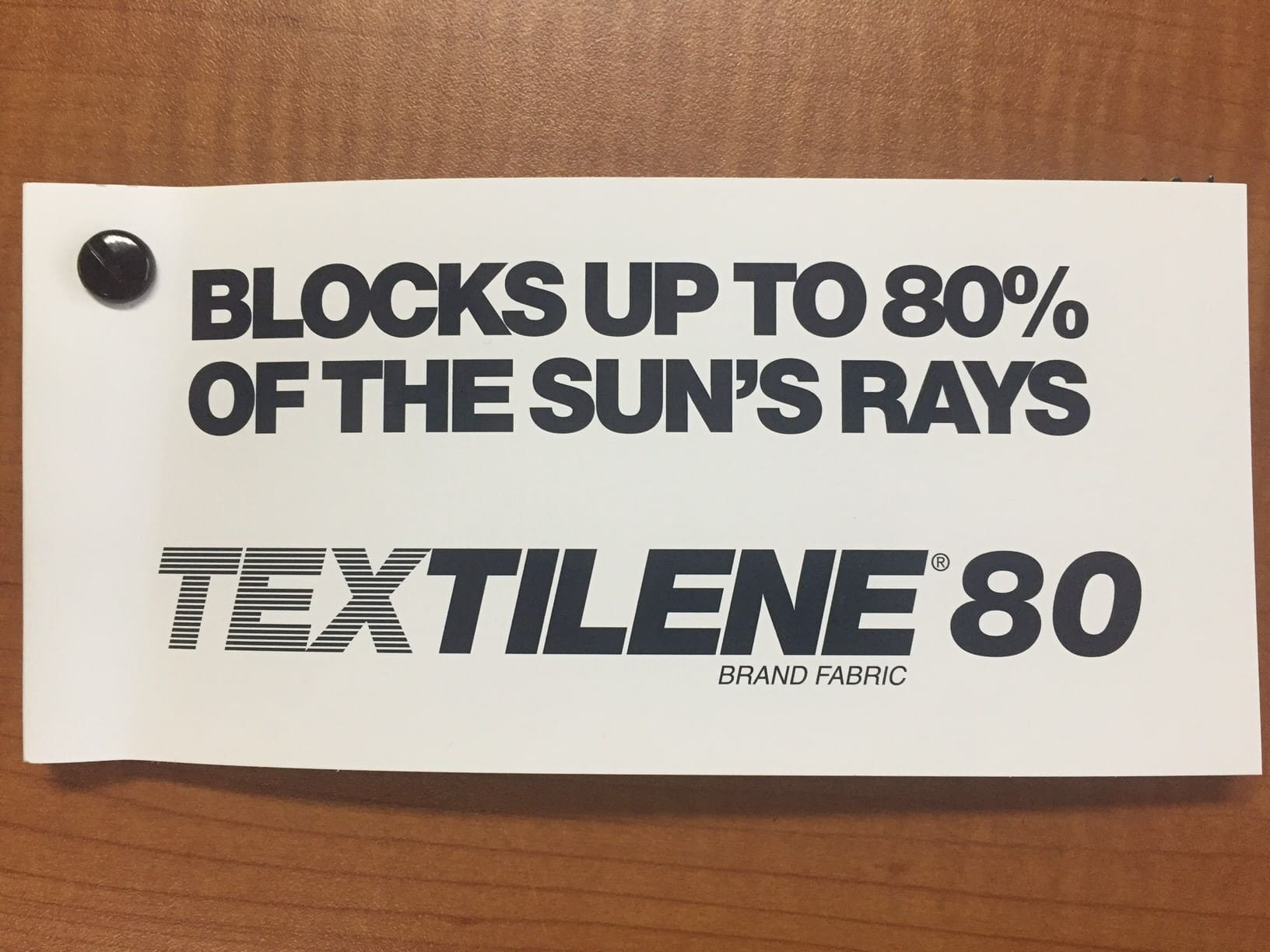Twitchell™ Textilene® 80 Solar Screen Sample Pack