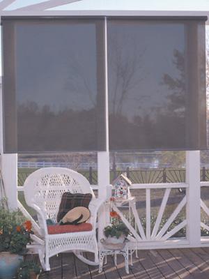 Custom Rollup Textilene® Solar Shades
