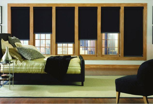 Custom Sheerweave 7000 Series Blackout Shades