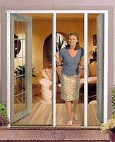 Ordinaire Disappearing Screen Doors Retract Out Of Sight