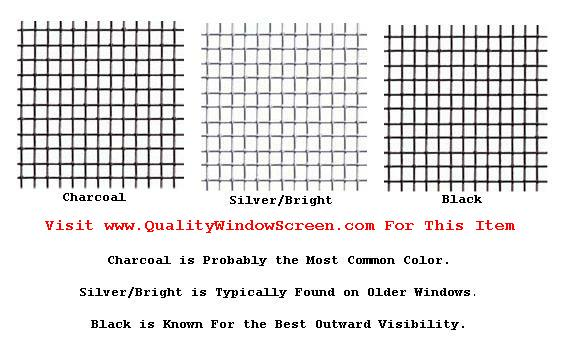 Custom Aluminum Window Screens